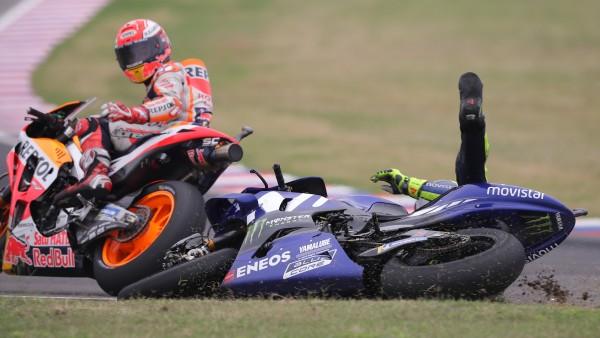 """Márquez, en paz con Rossi: """"No depende de mí, ¿qué más puedo hacer?"""""""