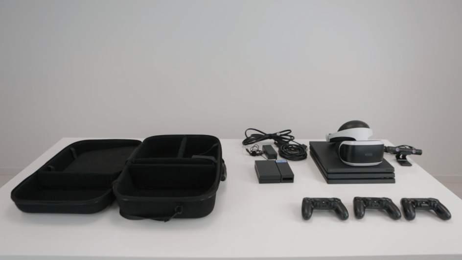 """PlayStation gafas de realidad virtual como herramienta educativa para aprender ciencias. """"title ="""" Plataforma virtual S TEM + VR """"width ="""" 656 """"height ="""" 369"""