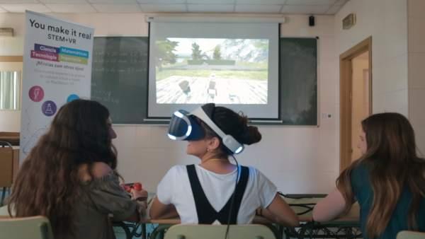 La realidad virtual como método educativo para aprender geometría, matemáticas y ciencias naturales